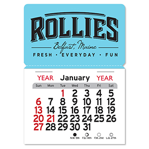 Magnetic Peel-N-Stick® Calendars - Rectangle
