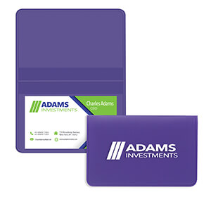 Item: 4110 - Deluxe Business Card Cases
