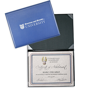 Deluxe Certificate/Diploma Holders