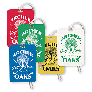 Item: 7418 - Rectangular Bag Tag