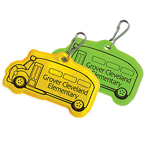 Item: RF331- School Bus Zipper Pulls