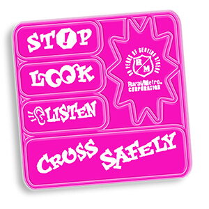 Item: RF373 - Set of 5 Helmet Reflectors